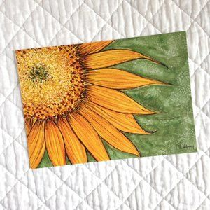 """Sunflower"" 5x7 Artwork Print"